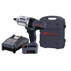 Ingersoll Rand 20v Iqv 1 2 Cordless Impact Wrench Kit 1100 Ft Lbs Ir W7150 K1