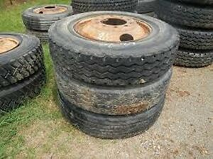 Tires 7 50 X 16lt W Bud Wheels For 1 Ton Truck Plus Semi Tires To Choose From