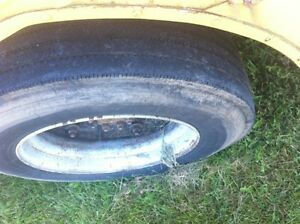 265 75 R22 5 Tires On Bud Wheels 1993 International Bus Stk 4h18