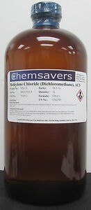 Methylene Chloride dichloromethane Acs 99 5 1l 32oz
