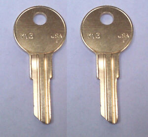 2 Matco Tool Box Replacement Keys Pre cut To Your Key Code Ch251 ch750