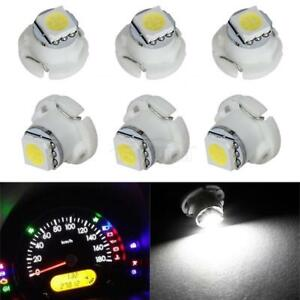 6x T5 T4 7 White Neo Wedge Led Bulb 1 5050 Smd For A C Climate Control Light 12v
