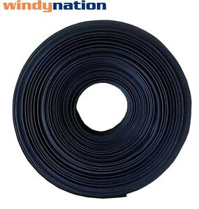 1 Inch 1 Polyolefin 2 1 Heat Shrink Tubing 100 Ft 100 Feet Black
