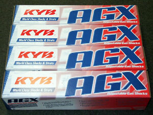 Kyb Agx Adjustable Shocks 89 91 Honda Civic Crx Ef Front Rear Set