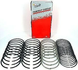 Perfect Circle 40141cp Moly Piston Rings Chevy 348 1958 1961 Std