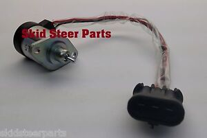 Bobcat Skid Steer Fuel Shut Off Solenoid Switch A300 S220 S250 S300 S330 Loader