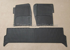 Land Rover Discovery 2 Ii Rubber Floor Mat Mats Oem Genuine Factory 1999 2004