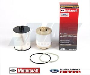 08 10 6 4l Powerstroke Diesel Truck Genuine Ford Motorcraft Oem Fuel Filter Kit