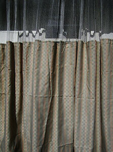 Lot Of 2 pattern D Hospital Privacy cubicle Curtains Flame Retardant