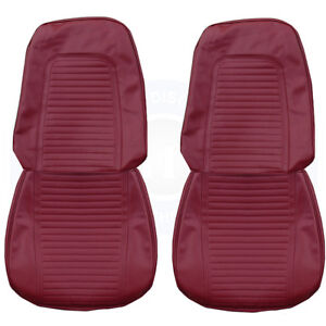 1969 Camaro Standard Front Bucket Rear Seat Upholstery Covers Colors Pui New