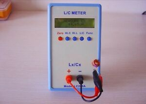 Lc200a Inductor Inductance Capacitance Capacitor L c Multimeter Meter Tester