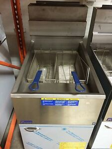Pitco Fryer 65c s Natural Gas