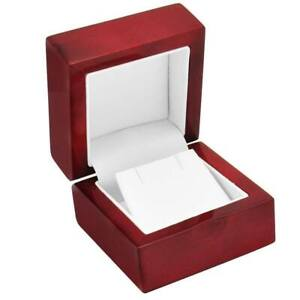 1 Rosewood Earring Jewelry Display Gift Box