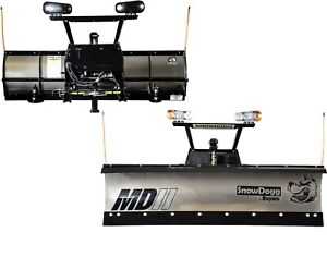 Snowdogg Buyers Products Md75ii Snow Plow Complete W Wiring Mount Hardware