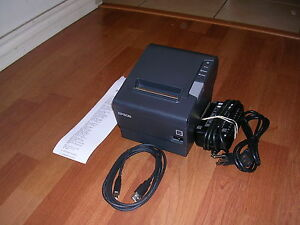 Epson Model M244a Tm t88v Usb Pos Thermal Receipt Printer Free Usb Cable