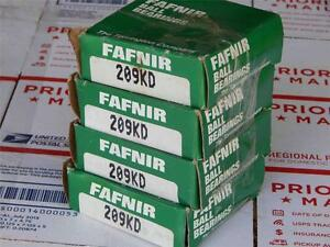 127 Lot Of 4 Fafnir 209kd Bearing new old Boxes