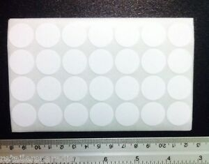 1000pk Removable 3 4 Round White Self Adhesive Labels Sticker Store Price Tags