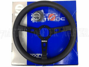 Sparco Steering Wheel R325 350mm 95mm Dish Leather