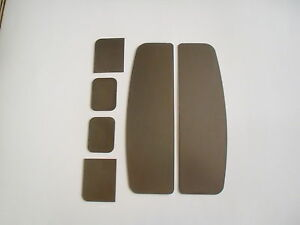 1964 1966 Ford F 100 Pickup Tail Light Stake Pocket Fillers Plates