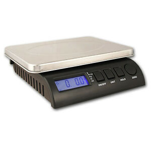 Zieis 70 Lb Digital Postal Shipping Scale Z70 ss zseal Ac dc New