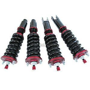 12 10kg 32 Step Adjustable Coilovers Suspension Kit For 96 00 Honda Civic Ek