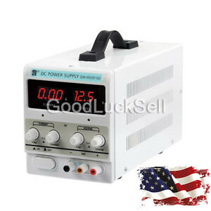 Lab Adjustable Dc Power Supply Precision Variable Digital Voltage 0 10a 0 30v Us