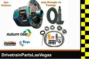 Jeep Dana 44 Jk Wrangler Posi Package Auburn Gear Powertorque Koyo 4 56 Ratio