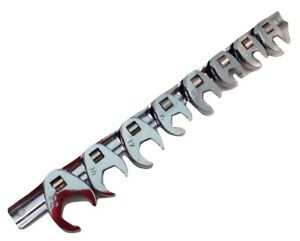 Crow Foot Professional Wrench Set 3 8 Dr Choice Of Sae Or Metric
