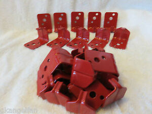 Lot Of 25 universal Wall Mount 5 10 Lb Size Fire Extinguisher Bracket New