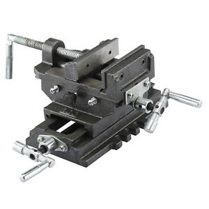 Cross Slide Vise 6 Inch Wide Drill Press X Y Clamp Milling Heavy Duty
