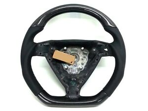 Porsche 997 987 Carrera Carbon Black Leather Steering Wheel C4 Turbo Cayman