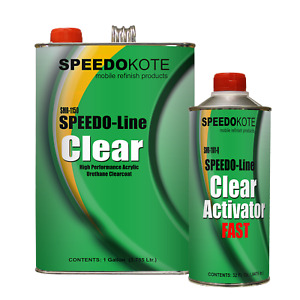 Clear Coat 2k Acrylic Urethane Smr 1150 1101 Q 4 1 Gallon Clearcoat Fast Kit
