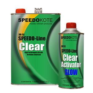 Clear Coat 2k Acrylic Urethane Smr 1150 1103 Q 4 1 Gallon Clearcoat Slow Kit
