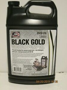 Jb Dvo 24 Black Gold Deep Vacuum Pump Oil Gallon Free Ship New In Sealed Jug
