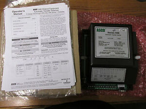 New Nos Asco Series 940 Automatic Transfer Switch D00940030150k1x0 150 Amps 415v