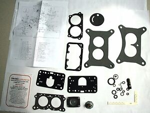 1959 60 Holley 2 Barrel Carburetor Kit Ford Edsel 292 332 Engines New