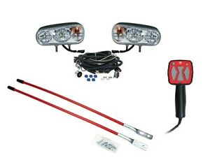 Snow Plow Upgrade Kit Halogen Headlight Kit Hand Held Controller Blade Markers
