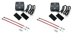 2 Snow Plow Switch Membranes W Blade Markers For Meyer Diamond Snowplow Blade