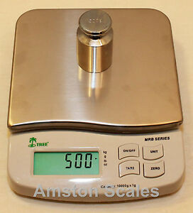 6 000 X 1 Gram Digital Scale Balance 6x7 Steel Platform Bench Lab With Ac Plug