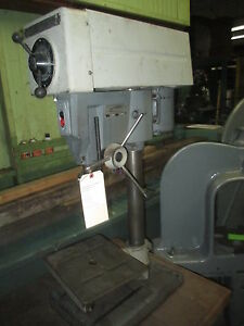 Delta Rockwell 15 Bench Model Variable Speed Drill Press Well Equipped