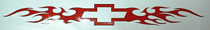 Chevy Bowtie Tribal Windshield Decal