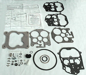 1976 86 Carb Kit Rochester Q Jet 4 Barrel Chevy Gmc Truck 350 Engines New