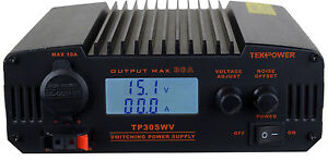 Tekpower Tp30swv 30 Amp Dc 13 8v Switching Power Supply With Noise Offset