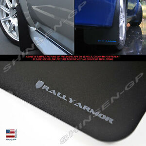 Rally Armor Classic Mud Flaps For 2002 2007 Impreza Sedan Wrx Sti W Grey Logo