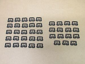 70 81 Camaro Firebird New Front And Rear Window Glass Molding Clips Set For Trim