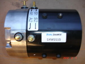 Total Source Sym5510 36 Volt Dc Forklift Golf Cart Drive Motor New Never Used