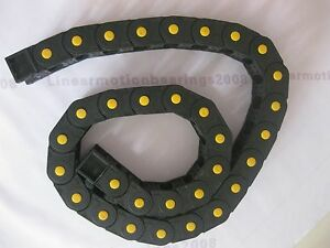 1 Cable Drag Chain Wire Carrier 25 57 r75 4000mm