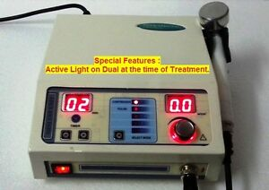 Portable Therapy Ultrasound 1mhz Compact Physical Pain Relief Chiropractic