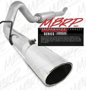 Mbrp 4 Aluminized Cat Back Exhaust System For 03 07 6 0l Powerstroke Diesel