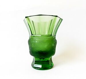 1920s Art Deco Cut Glass Vase By Moser Josef Hoffman Wiener Werkstatte Antique
